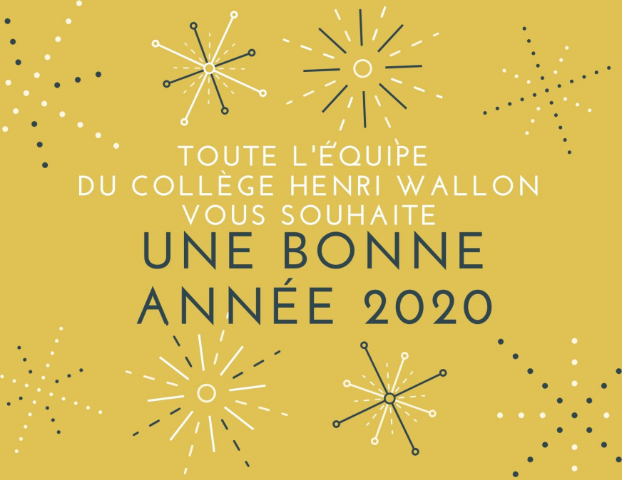 Yellow Sparkly New Year Card - JPEG - 132 ko